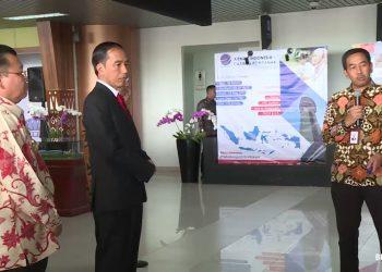 Jokowi Kagum Arsitektur Bandara Supadio