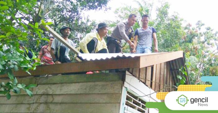 Desa Suka Maju Lakukan Program Bedah Rumah Untuk Warganya