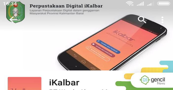 Aplikasi iKalbar Sebagai Upaya Pemprov Tingkatkan Minat Baca Masyarakat