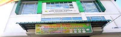 Kinerja Bank Pasar Melempem