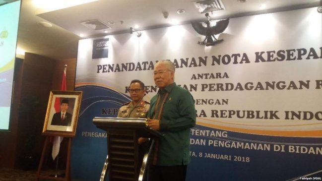 Kementerian Perdagangan Gandeng Polri Buat Amankan Sektor Perdagangan