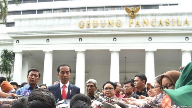 Presiden Jokowi Tegaskan Tidak Ada Tempat Bagi Kelompok Intoleran