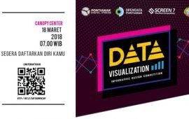 "Ikuiti  Workshop dan  Kompetisi desain infografis ""Data Visualization"""