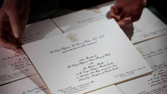 Pangeran Harry dan Meghan Akan Undang 600 Tamu