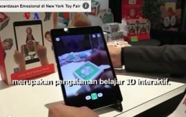 Mainan Kecerdasan Emosional di New York Toy Fair