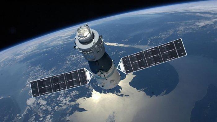 Laboratorium Luar Angkasa Tiongkok Terbakar di Atmosfir