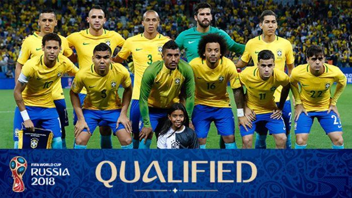 Tim Samba Brazil Tiba di Rusia