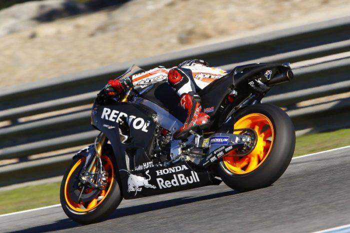 Marquez Jajal Black Honda di Tes Catalunya