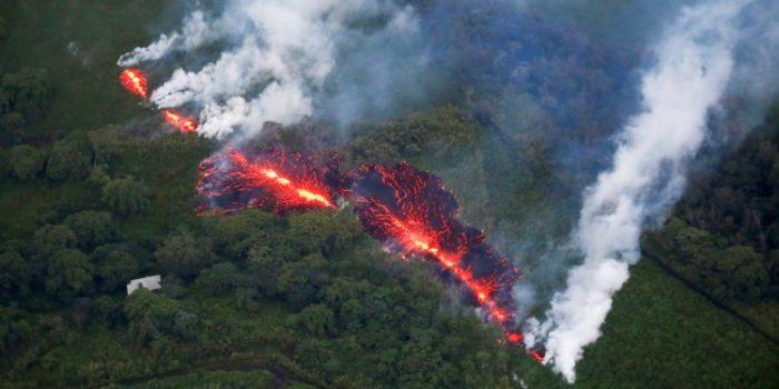 Lahar Gunung Api Hawaii Menghancurkan Ratusan Rumah