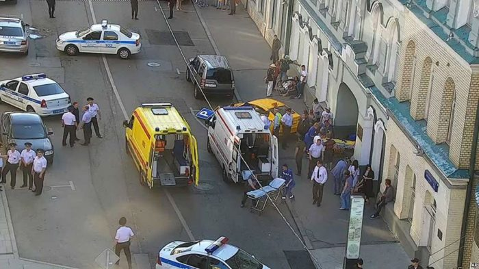 Taksi Tabrak Pejalan Kaki di Moskow Dikhawatirkan Picu Kemarahan