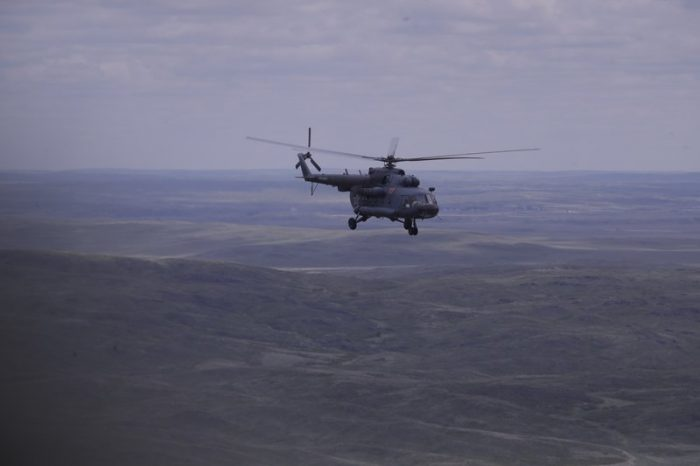 Ruang Kapsul Rusia dengan 3 Astronot Mendarat di Kazakhstan