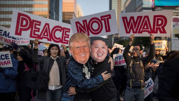 Trump dan Kim Berkumpul di Singapura, Sejarah Pun Terjadi