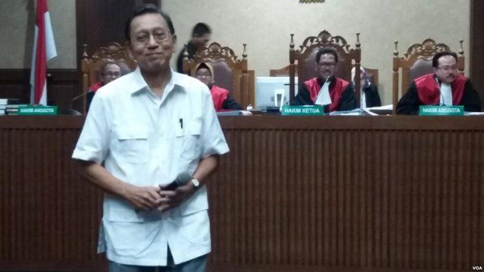 Mantan Wapres Boediono Bersaksi dalam Sidang Kasus BLBI