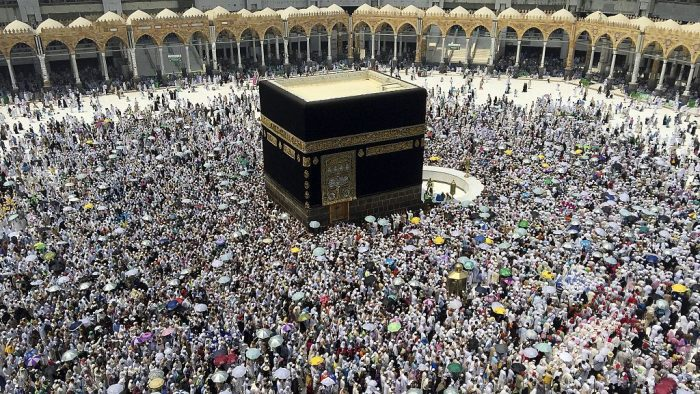 Manasik Haji Massal di Masjid Raya Mujahidin