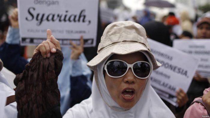 Survei LSI: Pro 'NKRI Syariah' Naik Signifikan