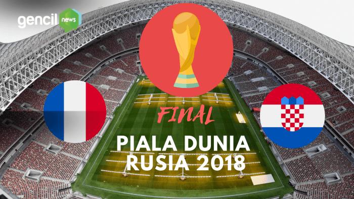 Jelang Final Piala Dunia: Pilih mana Perancis atau Kroasia