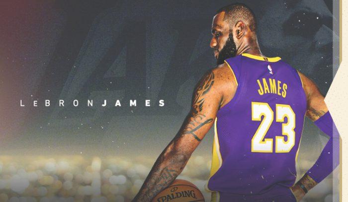 Lebron James Resmi Bergabung Dengan LA Lakers