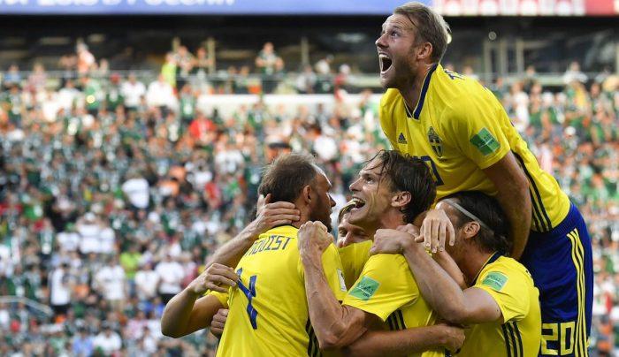 Swedia, Skuad termurah di perempat final yang berhasil menyingkirkan Tim-tim besar di Piala Dunia