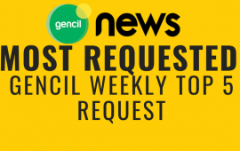 Gencil Weekly Top 5 Request 18 – 25 Agustus 2018