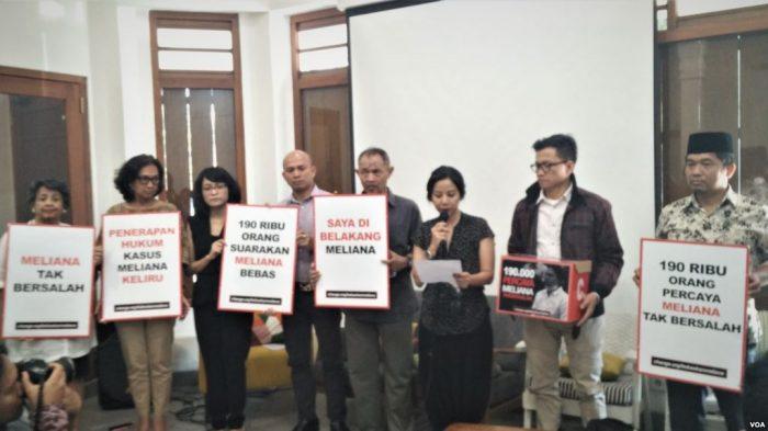 Tokoh Keberagaman Indonesia Deklarasi Dukungan Terhadap Meliana