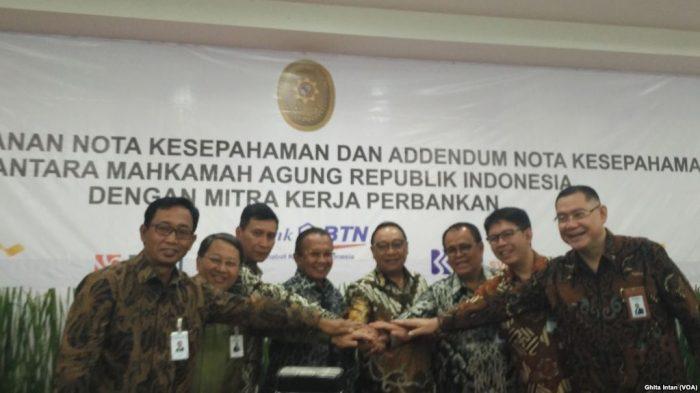 MA Jalin Kerjasama E-Payment dengan 7 Bank