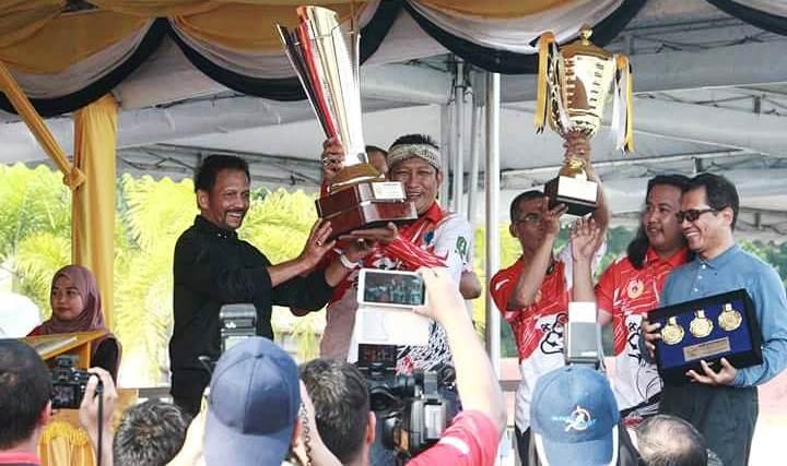 Bikin Bangga 39 Putra terbaik Kalbar Rebut Juara 1 dan Bawa Pulang Piala Bergilir dari Sultan Brunei