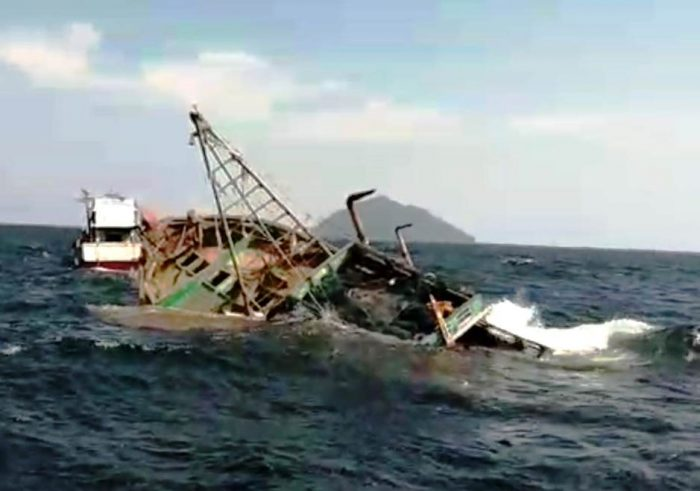 18 Kapal Asing Ditenggelamkan di Pulau Datuk