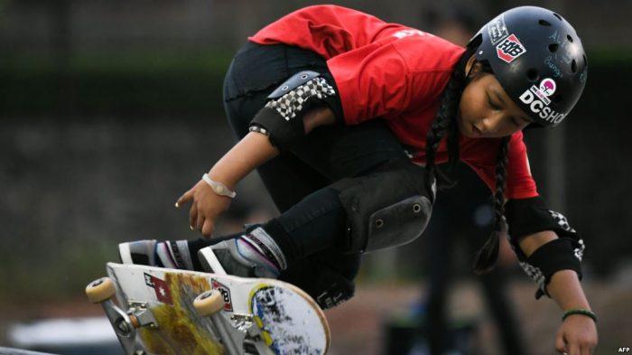 Aliqqa Noverry atlet skateboard Indonesia