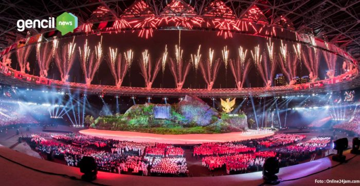 Membuat Takjub,Upacara Pembukaan Asian Games Berlangsung Meriah Dan Sukses