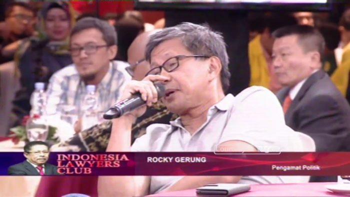 Rocky Gerung Puji Pemuda Pontianak