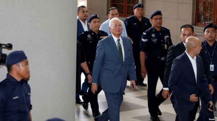 Badan Anti Korupsi Malaysia Kembali Tangkap Mantan PM Najib Razak
