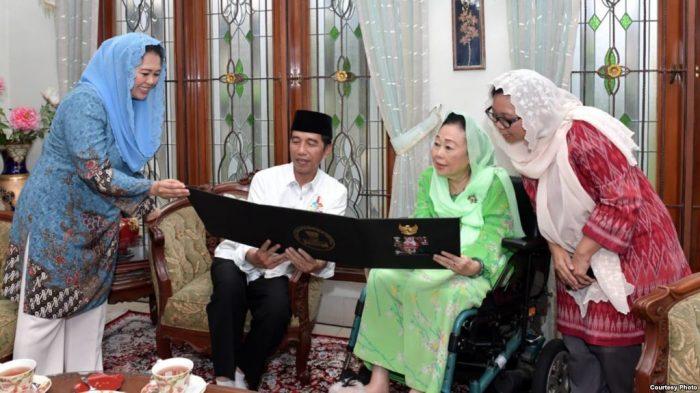 Haul Gus Dur, Jokowi Kunjungi Sinta Nuriyah Wahid