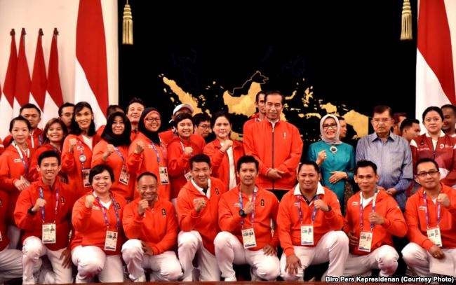 Gak Pake Lama, Bonus Langsung diterima Atlet Berprestasi di Asian games 2018