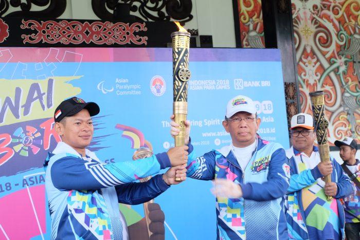 Pawai Obor Asian Para Games di Kalbar, Sutarmidji: Kami Bangga