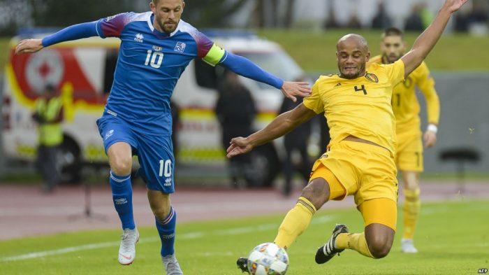 Belgia Menang 3-0 atas Islandia