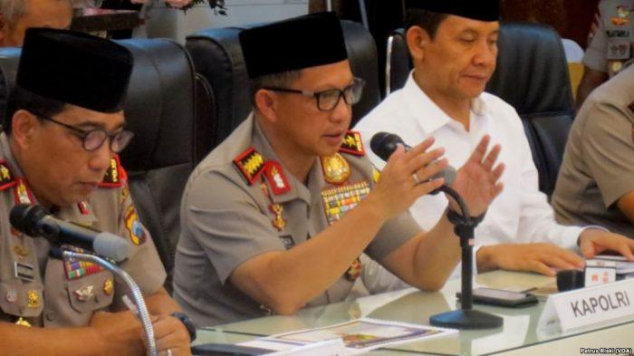 Kapolri: Terosisme Adalah Ancaman Bagi Indonesia Selama Konflik Timur Tengah Berlansung