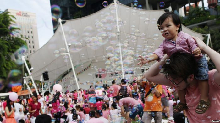 Survei: Mayoritas Warga Singapura Dukung Larangan Hubungan Sesama Jenis