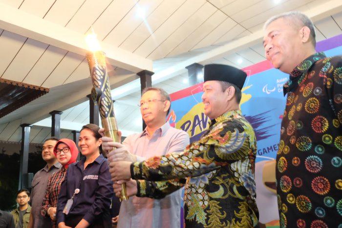 Obor Asian Para Games Ada di Titik Nol Derajat