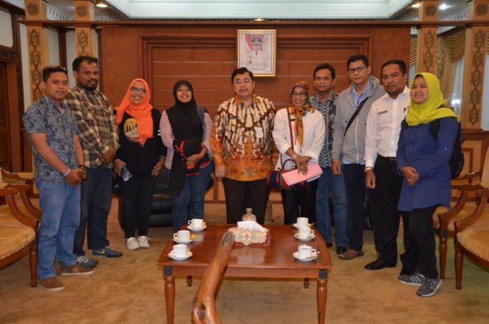 AJI Pontianak Gelar Fesmed 2018 di Rumah Radangk