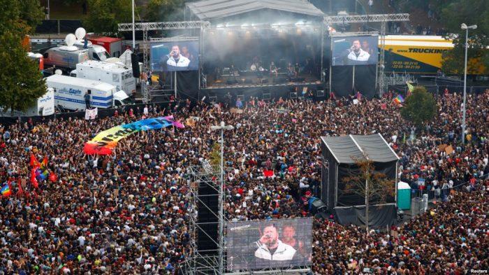Konser Anti-Rasialisme di Jerman
