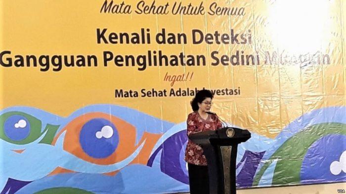 2020 Indonesia Targetkan Turunkan Angka Kebutaan