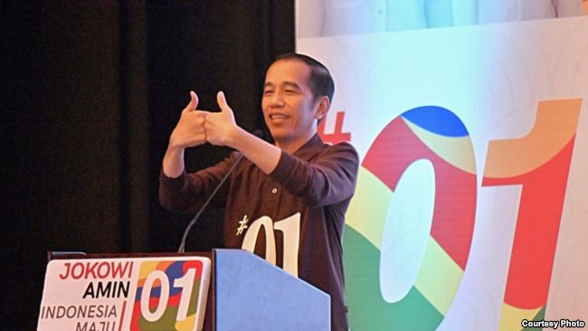 Tim Kampanye Nasional Jokowi Targetkan Raih 70% Suara di Pilpres