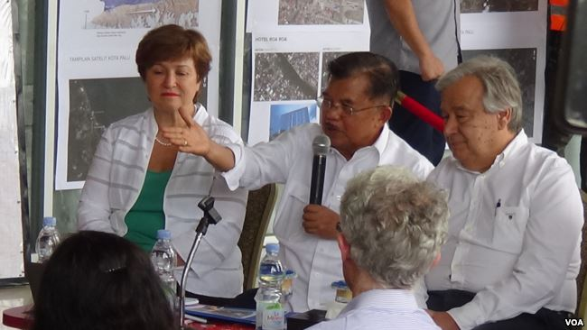 Wapres Kalla : Hunian Sementara Akan Dibangun dalam Dua Bulan