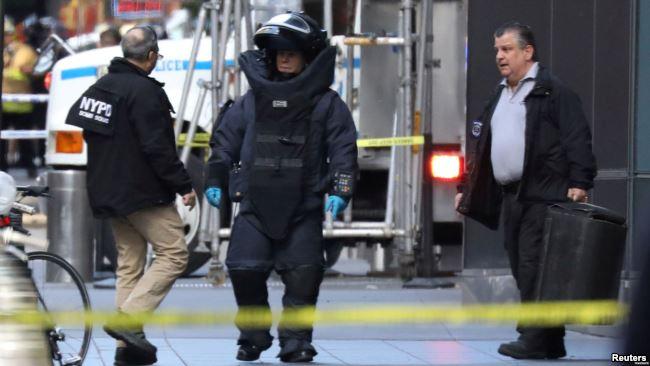 Kepolisian New York: Bom bisa Berasal dari Pelaku Yang Sama
