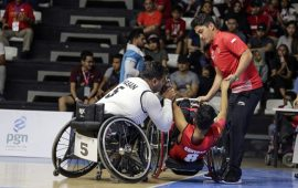 Indonesia Kalah Dari Iran di Pertandingan Basket Wheelchair Asian Para Games 2018