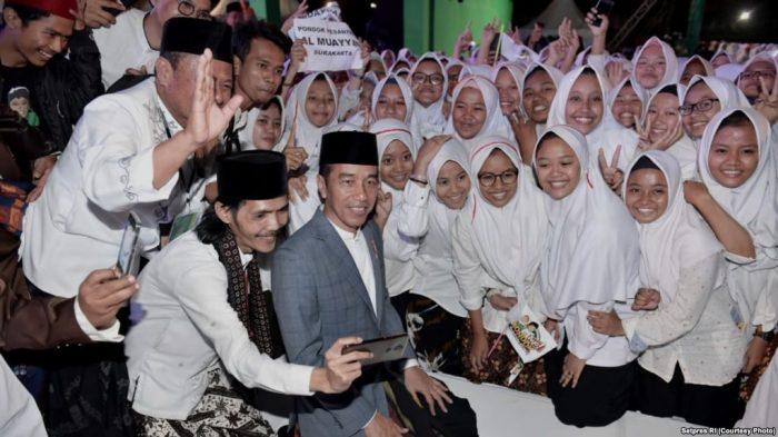 Jokowi: Pemberdayaan Pesantren Masih Minim