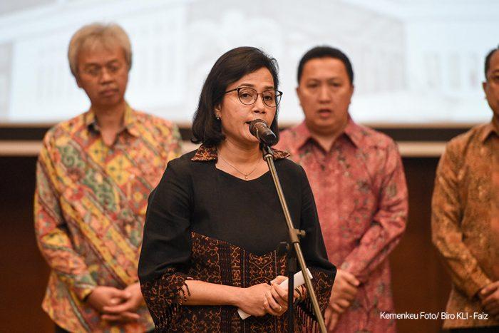 Menkeu Sri Mulyani Saksikan Penandatanganan Deklarasi Bersama Peningkatan Transaksi Rupiah