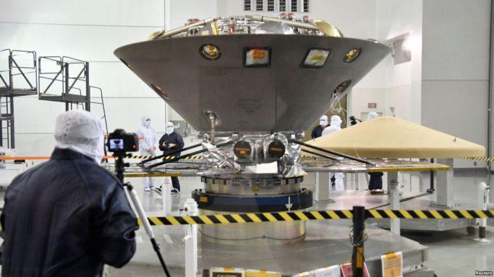 Pesawat Antariksa InSight Bakal Mendarat di Planet Mars