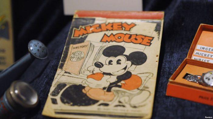 Tujuh poster antik Mickey Mouse Diperkirakan Laku Terjual Ribuan Dolar