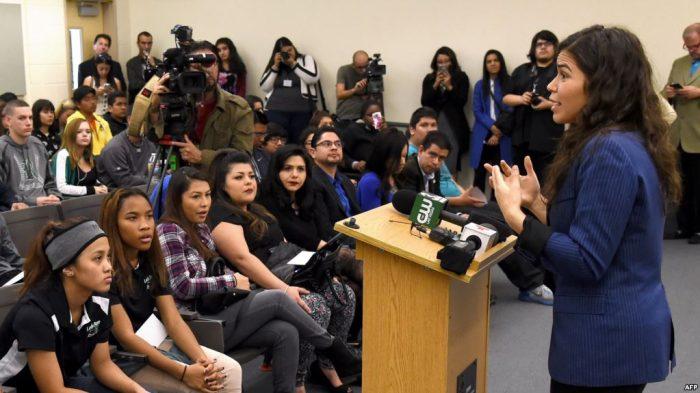 Aktris Hollywood Ajak Warga Latin AS Ikut Pemilu